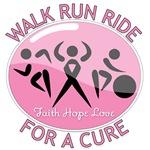 Breast Cancer Walk Run Ride Shirts & Gifts