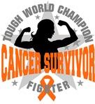 Kidney Cancer Tough Survivor Shirts