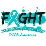 Fight PCOS Awareness Cause Shirts