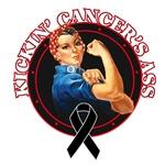 Kickin' Melanoma Cancer's Ass Shirts