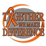 Leukemia Together We Make A Difference Shirts