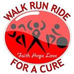 Stroke Disease Walk Run Ride Shirts