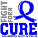 Rectal Cancer Fight For A Cure Shirts