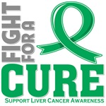 Liver Cancer Fight For A Cure Shirts