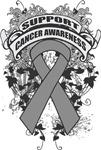 Support Brain Cancer Awareness Shirts