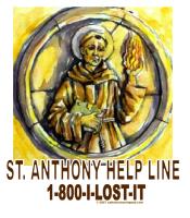 St. Anthony Help Line