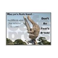 Making Fun of Fear!