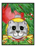 Please Click Here to See My Cat Ornaments.