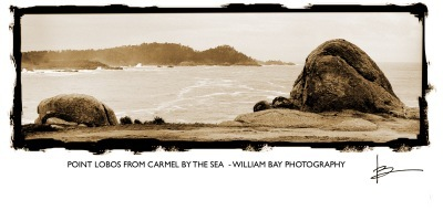 Point Lobos from Carmel by the Sea, CA