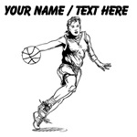 Custom Female Basketball Player