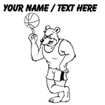 Custom Basketball Mascot