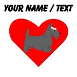 Custom Scottie Heart