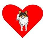 Shetland Sheepdog Heart