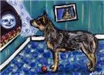 AUSTRALIAN CATTLE DOG ARt