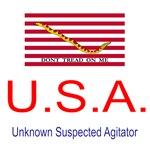 U.S.A - Unknown suspected agitator