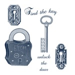 Steam punk Locks and Key