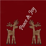 Peace and Joy Reindeer