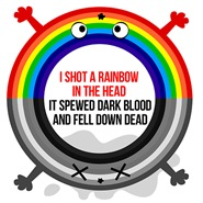 I shot a rainbow - Charlie Brooker