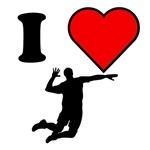 I Heart Volleyball