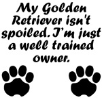 Well Trained Golden Retriever Owner