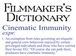 Cinematic Immunity