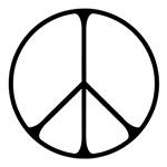 Elegant Peace Sign