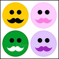 Smileys and Mustaches