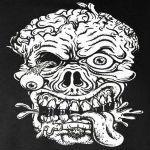 Zombie Head White