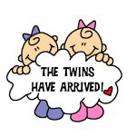 Twin Girls Arrived