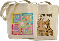 Cute and Unique Baby Tote Bags!