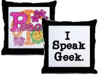 Text and Inspirational Pillows