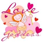 Love Goddess Valentine T-shirts and Gifts