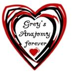 Grey's Anatomy Forever Tshirts and Gifts
