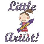 Girl Little Artist T-shirts and Gifts