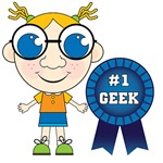 Number One Geek Girl T-shirts and Gifts