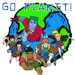 Captain Planet GO PLANET T-shirts and Gifts