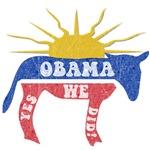 Obama Yes We Did Retro