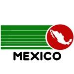 Mexico Retro Stripes T-Shirts