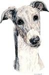 Greyhound Dog Portrait Unique Gifts Items