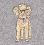 Hipster Poodle
