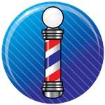 Barber Pole Blue