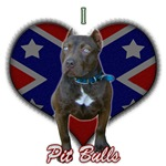 I Love Pit Bulls (Chocolate Pit)