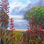 Beach Flax -By Helen Blair
