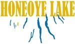 Honeoye Lake in the region