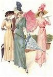 Triad of Edwardian Ladies
