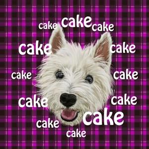 Westie Wants Cake