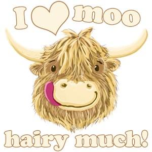 Wee Hamish Loves Moo!