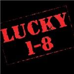 Lucky One-Eight Urban Jewish T-Shirts