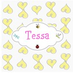 Personalize it! Doodle Hearts Yellow