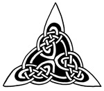 Celtic Knotwork Triangle